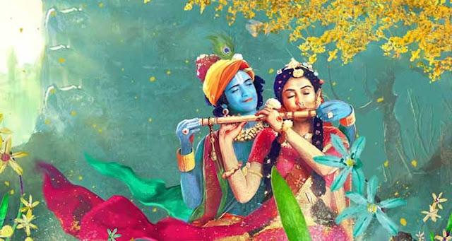 Radhe Krishna Wallpaper
