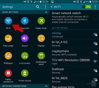 Cara Seting Proxy Server Wi-Fi di Android
