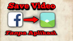 Cara Download Video di Facebook Lite