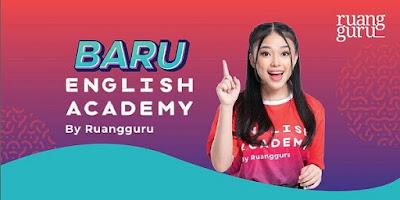 english academy, ruangguru, kursus online bahasa inggris