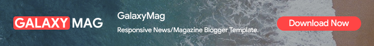 GalaxyMag - Magazine Blogger Template