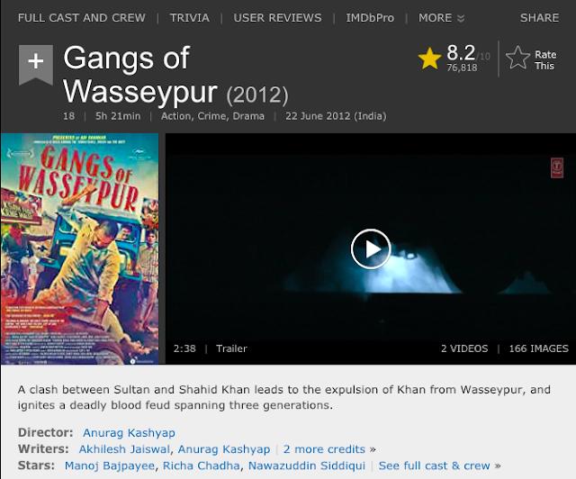Gangs of Wasseypur  Part 1 & Part 2 Full Movie 480p [430MB] 720p [1.4GB] 1080p [4.6GB] Download