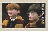Selo Harry Potter e Ron Weasley