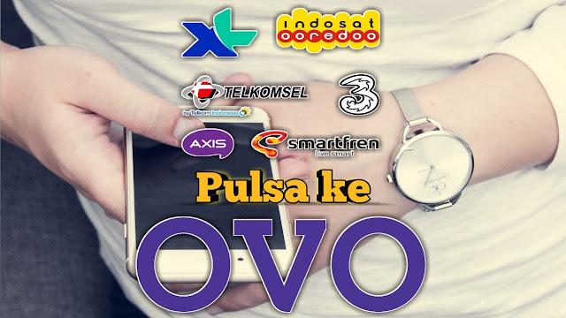 Pada umumnya pulsa dari provider Telkomsel Cara Mengubah Pulsa Menjadi Saldo OVO