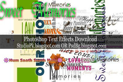 Photoshop Text Effects Download - PsdLab92