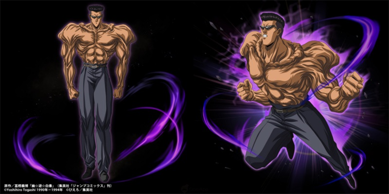 Grand Summoners - Yu Yu Hakusho Collab toguro
