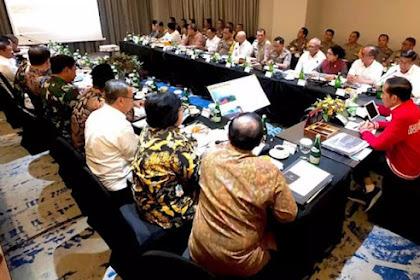 Demo Dimana-mana, Jokowi Kumpulkan Menteri, Kapolri dan Panglima