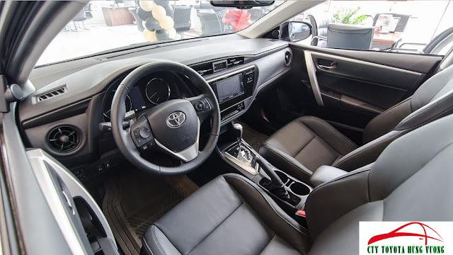 Giá xe, thông số kỹ thuật và đánh giá chi tiết Toyota Corolla Altis 2018 - ảnh 18