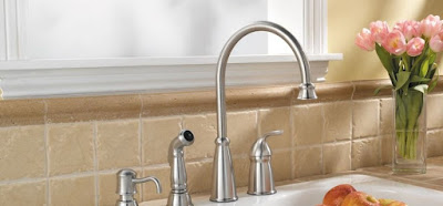 Four Hole Kitchen Faucets