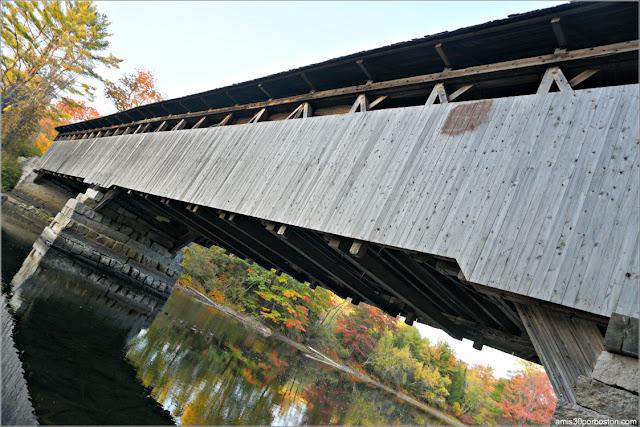 Puente Cubierto Porter-Parsonsfield Bridge, Maine