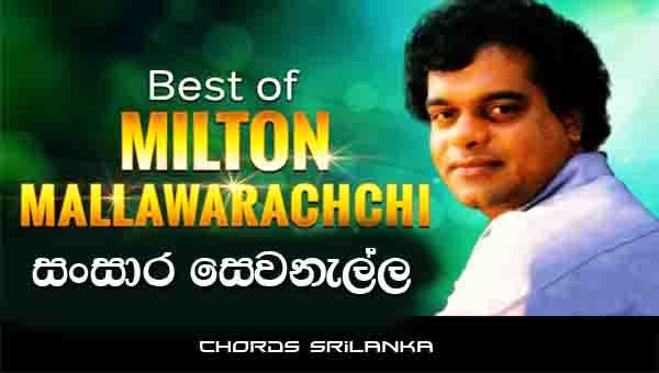 Sansara Sewanella Chords, Milton Mallawarachchi Songs, Sansara Sewanella Song Chords, Milton Mallawarachchi Songs Chords, Sinhala Song Chords,