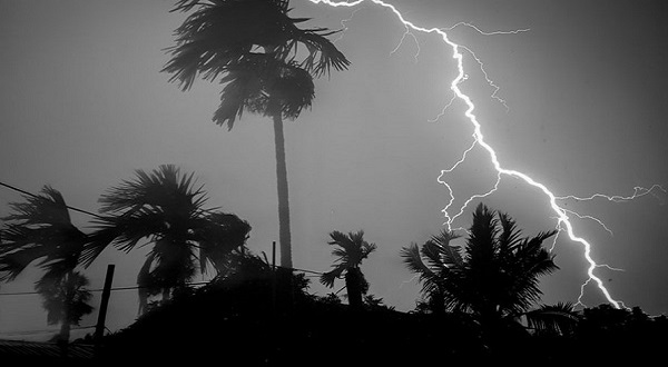 There may be thunderstorms in several parts of the country