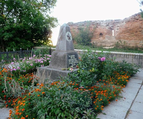 Бердичів. Пам'ятник на території фортеці 960 мешканцям закатованим фашистами