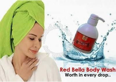 RED BELLA BODY WASH