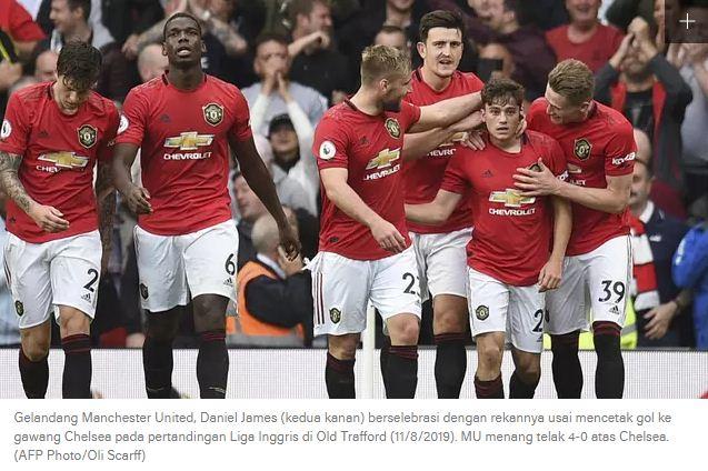 Daftar Pemain Manchester United 2019