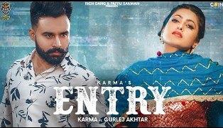Entry Lyrics - Karma Sekhon & Gurlej Akhtar