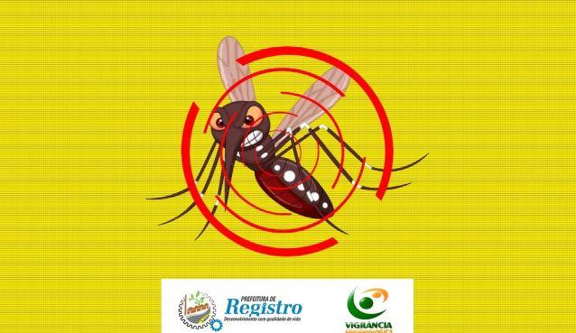 Número de confirmações de dengue em Registro-SP segue estabilizado