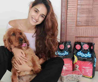Disha Patani With Her Dog