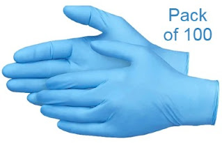 High quality and low box price nitrile gloves disposable