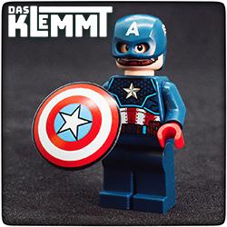 Minifigur Captain America - www.dasklemmt.de
