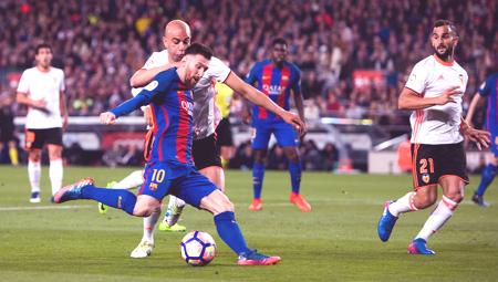 موعد مباراة برشلونة القادمة ضد فالنسيا بالدوري الإسباني