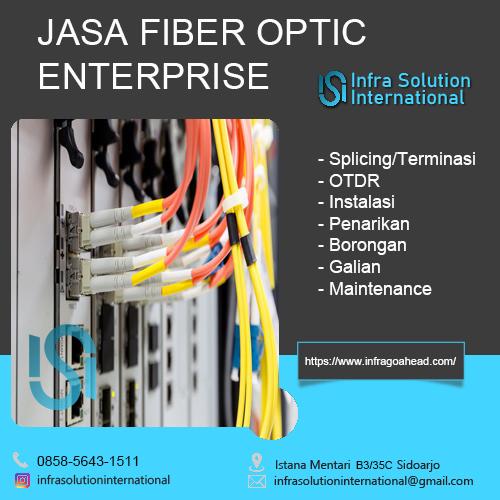 Jasa Splicing Fiber Optic Trenggalek Enterprise