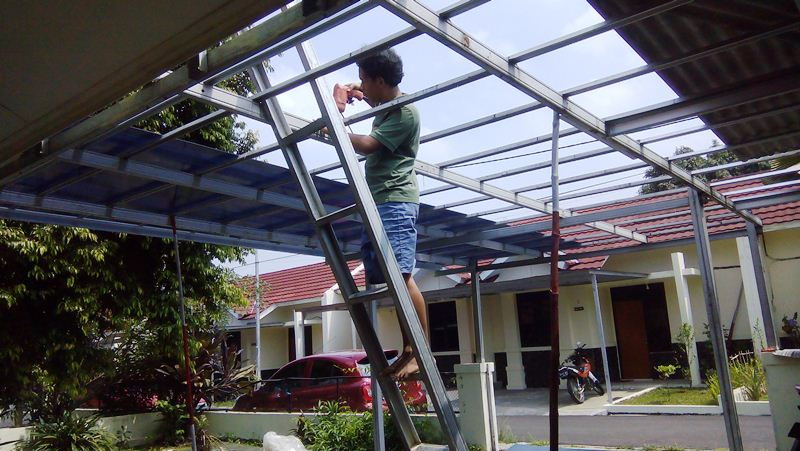 Kanopi Baja Ringan Bogor Kota Jawa Barat Di Depok