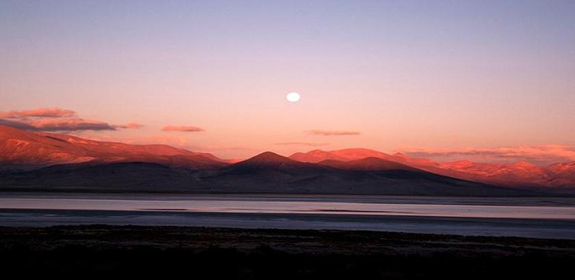 A view of Parque Nacional Salar del Huasco.