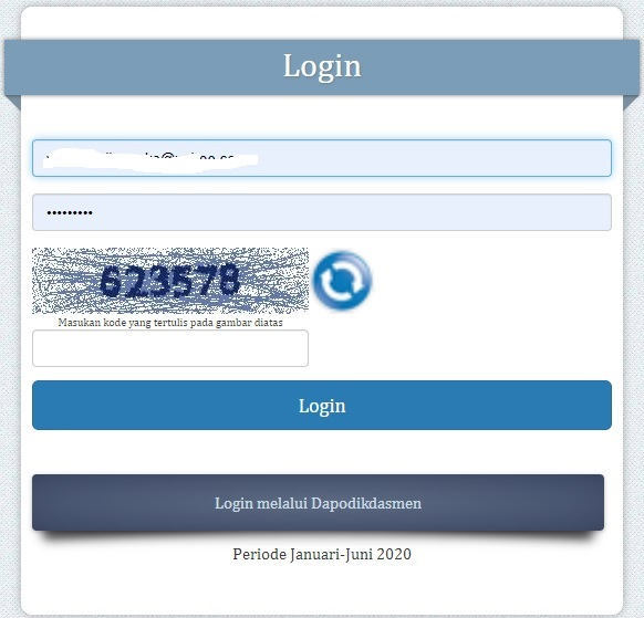 Cara Cek Info Gtk Periode Januari Juni 2020 Sinau Thewe Com