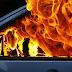 На Оболоні виявили палаючий автомобіль з трупом всередині