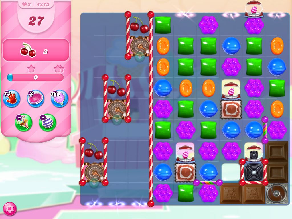 Candy Crush Saga level 4372