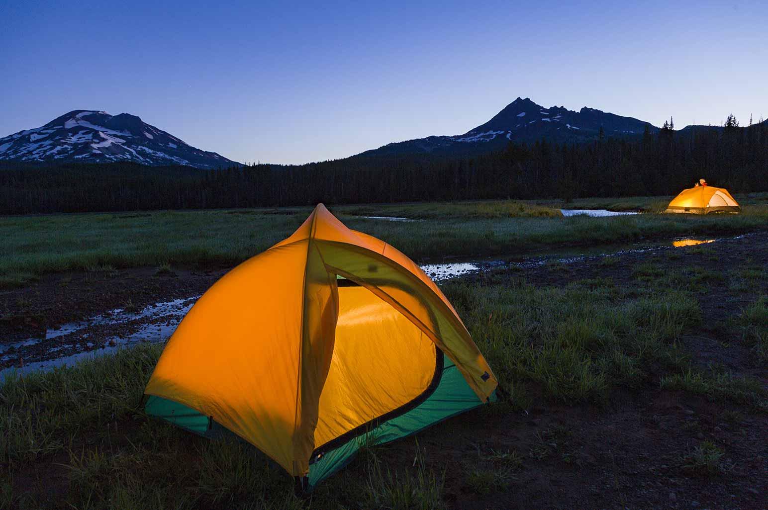 The Three Sisters Wilderness, Oregon, USA