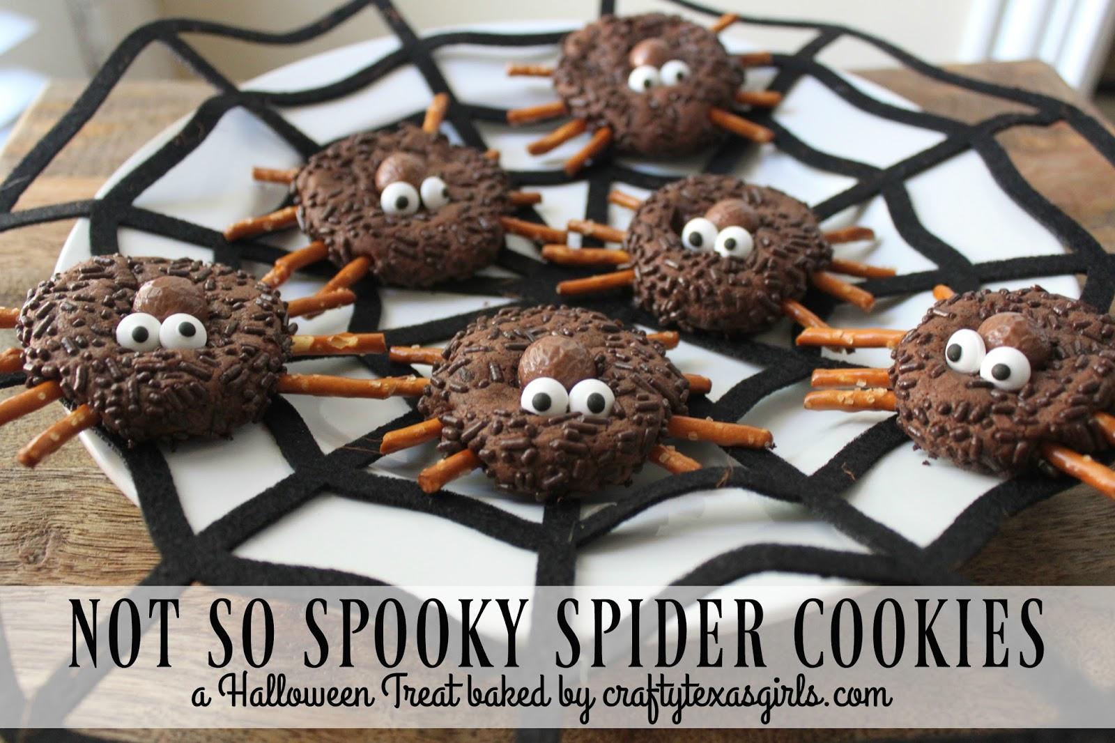 Spooky Spider Cookies Recipe — Dishmaps