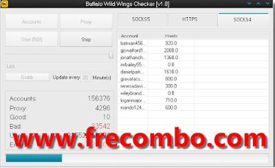 Buffalo Wild Wings Checker [v1.0] – Coded by Mico