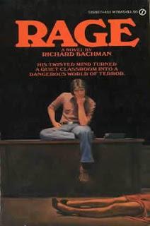 Rage - Book Horror- Stephen King