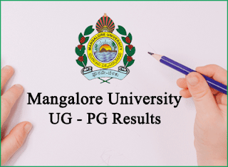 mangalore university result 2019 - 2020 ug pg degree exam results