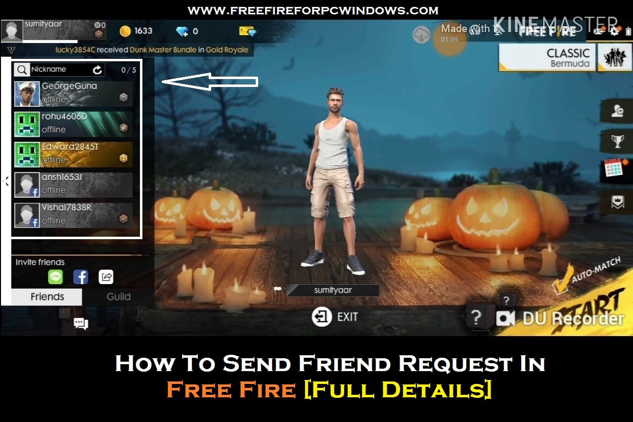 How To Send Friend Request In Free Fire