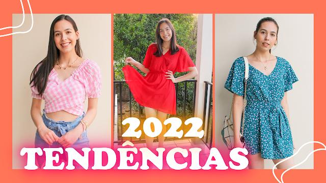 Tendências Primavera Verão 2022 com looks Shein!