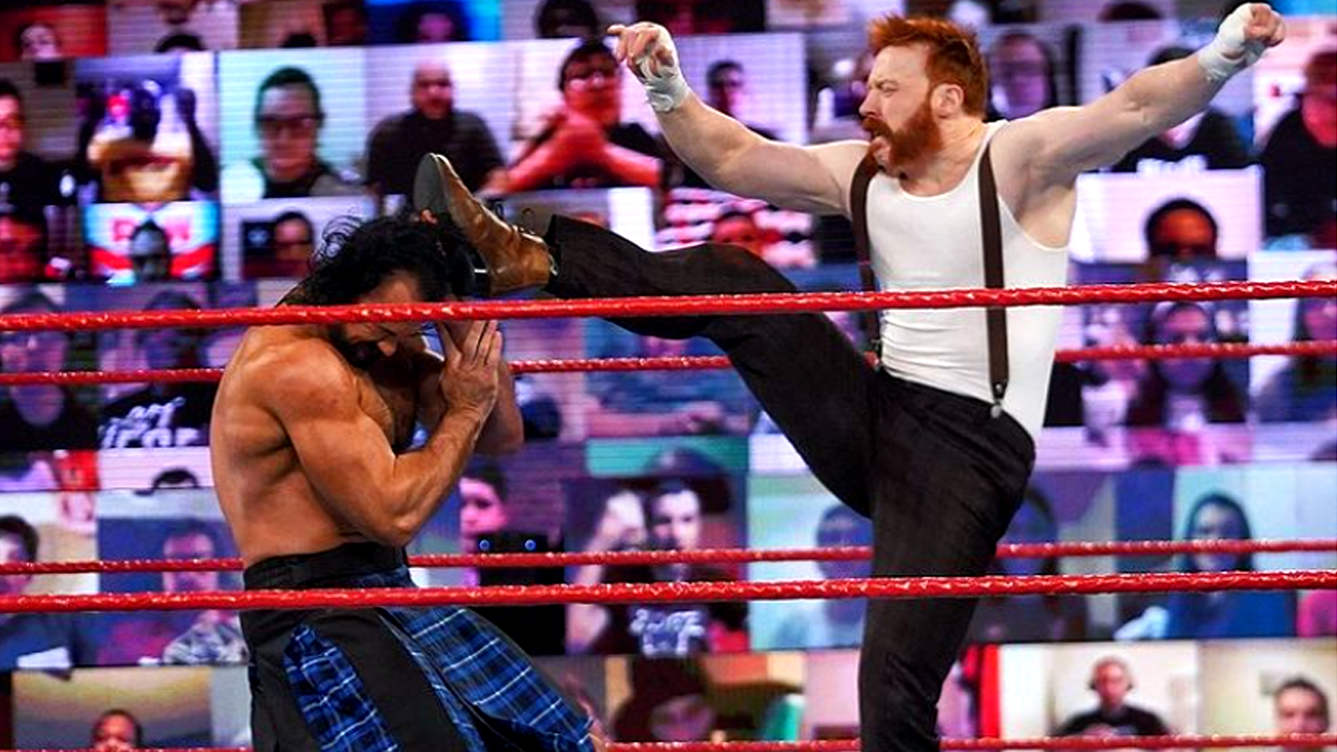 Sheamus revela seu novo visual para a WrestleMania 37