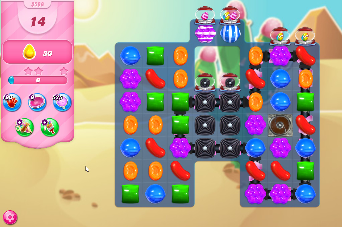 Candy Crush Saga level 3593
