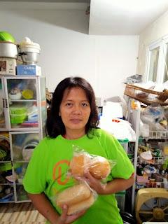 UMKM Space Burger Q Jonas-Ibu Ani