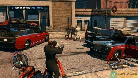 Saints Row 3 Gameplay Screenshot