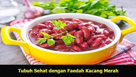 Tubuh Sehat dengan Faedah Kacang Merah