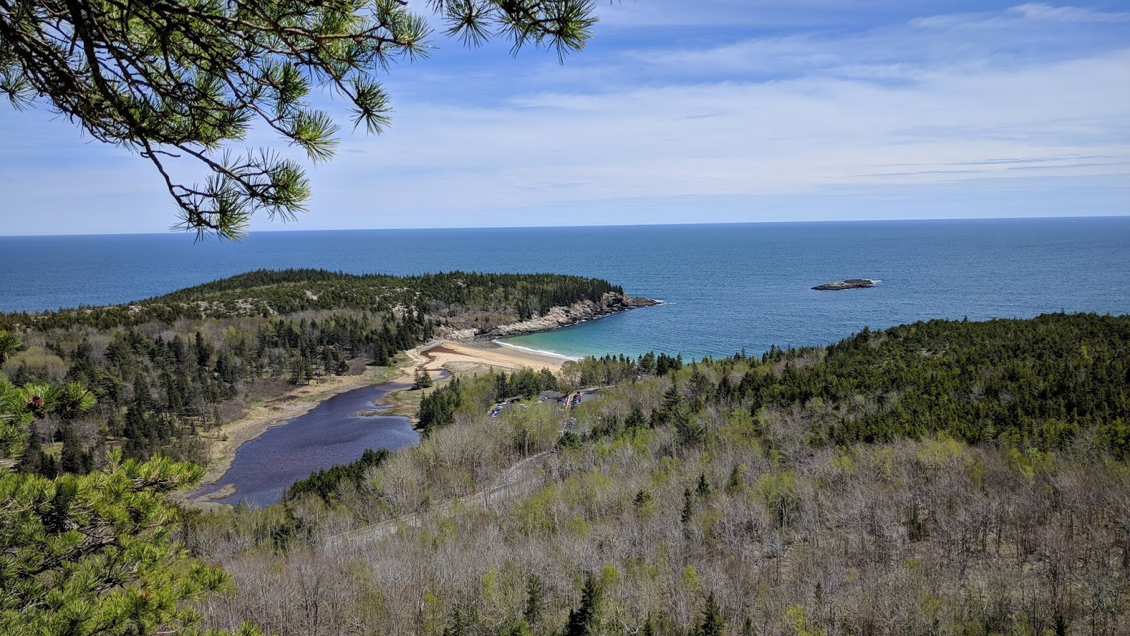 beehive trail acadia view