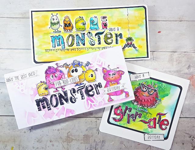 Polkadoodles Freaky Monsters & Funky Monsters
