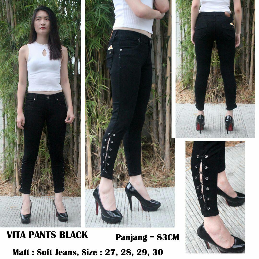 Vita pants black