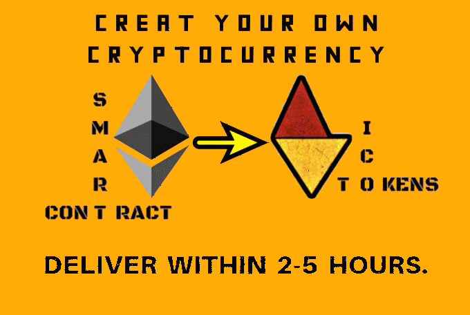 Create erc20 token + verifying it on etherscan and make your own cryptocurrency