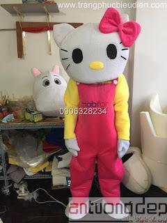 cho thuê mascot mèo kitty
