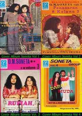Koleksi album soneta Vol 1,2,3,4, lengkap