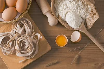 proses pembuatan fettucine pasta